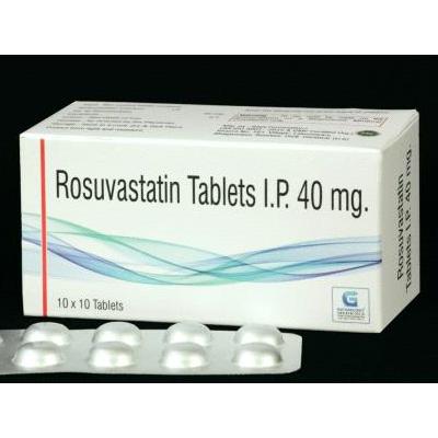 Rosuvastatin 40 mg Tab