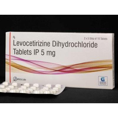 Levocetirizine Dihydrochloride Tablets IP 5 mg