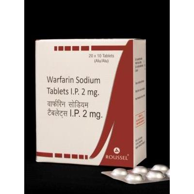Warfarin Sodium IP 2mg Tab