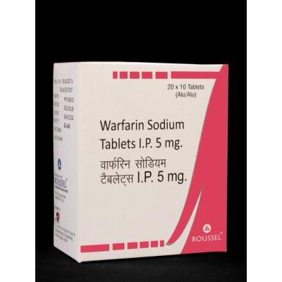 Warfarin Sodium IP 5mg Tab