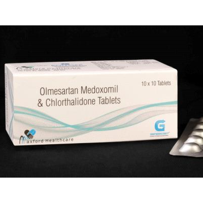 Olmesartan Medoxomil & Chlorthalidone Tab