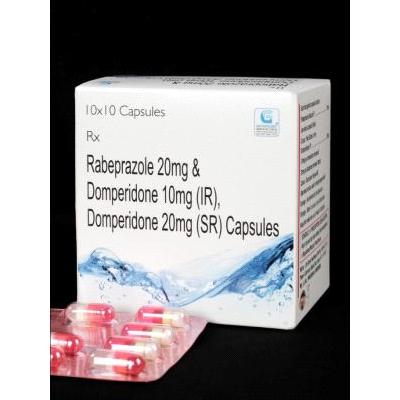 Rabeprazole 20 mg Domperidone 10 mg(R) Domperidone 20 mg(SR) Cap