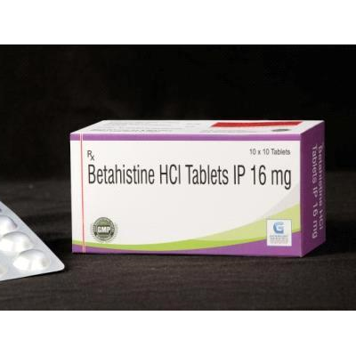 Betahistine hcl 16 mg Tab