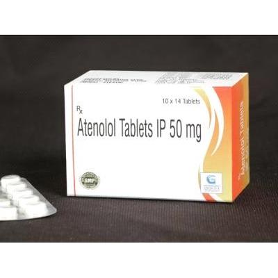 Atenolol 50 mg Tab