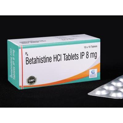 Betahistine HCL IP 8 Mg Tab