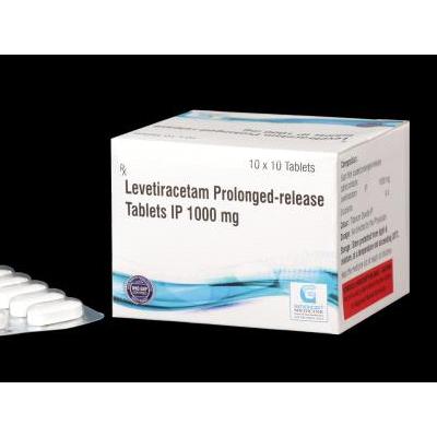 Levetiracetam prolonged-release 1000 mg Tab