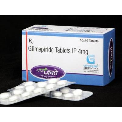 Glimepiride Tablets IP 4mg