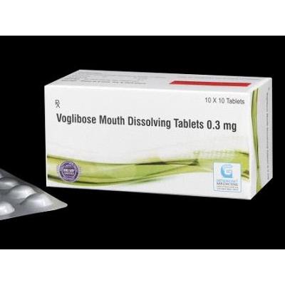 Voglibose 0.3 MG Mouth Dissolving Tab