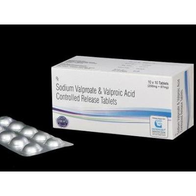 Sodium Valporate & Valporic Acid  CR Tab