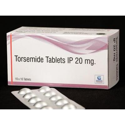 Torsemide Tablets IP 20mg