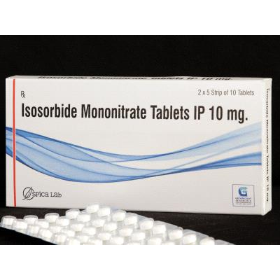 Isosorbide Mononitrate Tab IP 10 mg