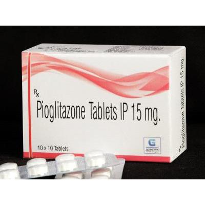 Pioglitazone Tab IP 15 mg