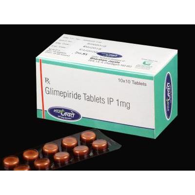 Glimepiride 1 Mg Tab