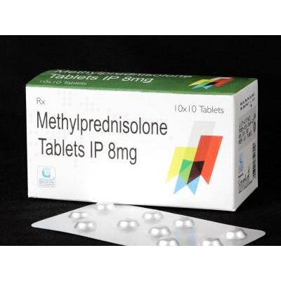 Methylprednisolone 8mg Tab